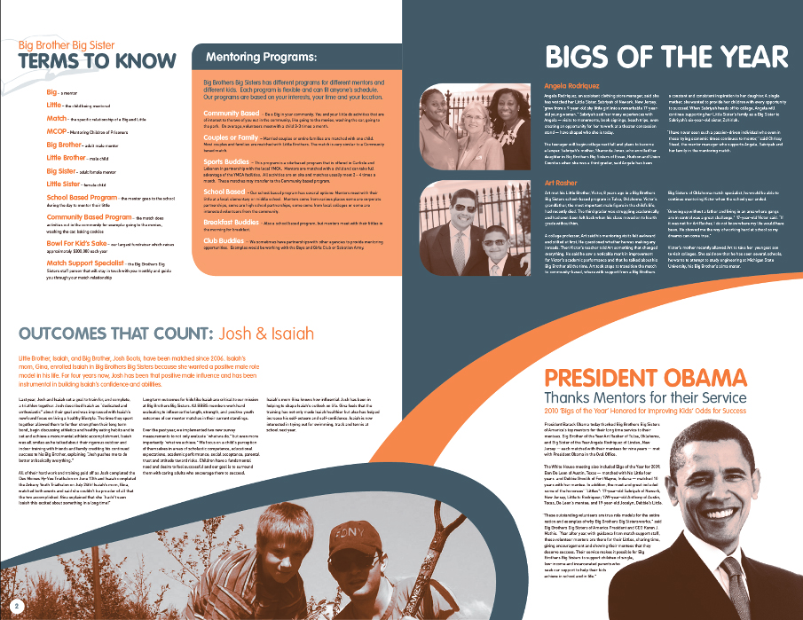 big brother big sister inside pages - Newsletter Design Ideas
