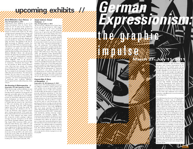 Museum of Modern Art Newsletter - Issue #4 More Inside Pages