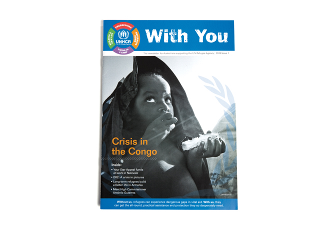 "UNHCR ""With You"" Newsletter"