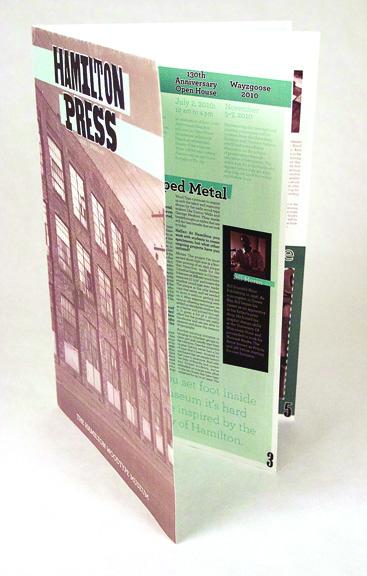 Newsletter for Hamilton Press