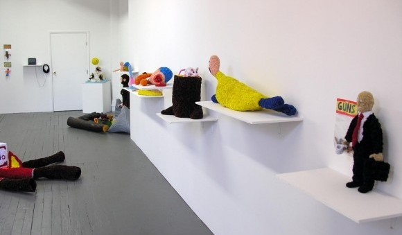 "Installation shot from ""Don Porcella: Everything and Nothing at All"""