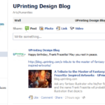The UPrinting Design Blog is Now on Facebook!