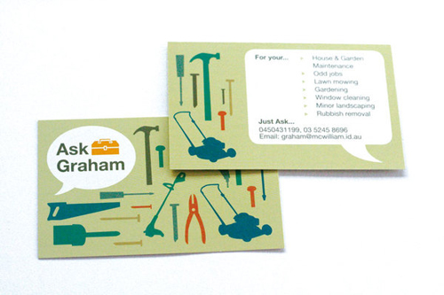 business postcard ideas 11 - ask graham