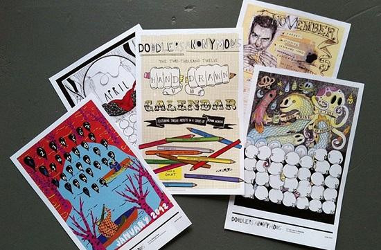 Doodlebomb Calendar