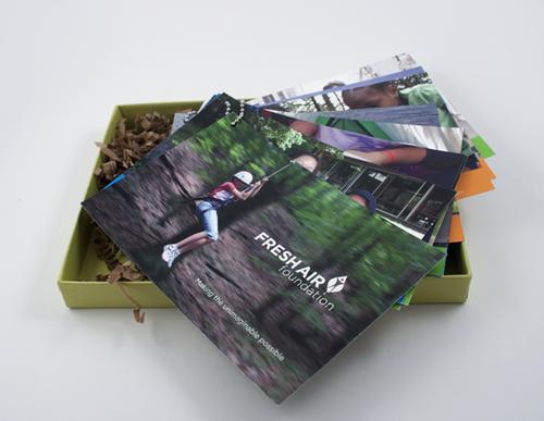 business postcard ideas 14 - fresh air foundation