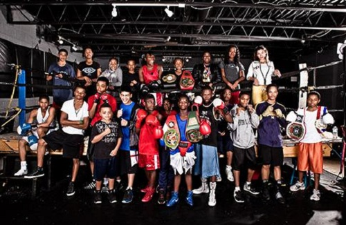 Downtown Boxing Gym Group Photo