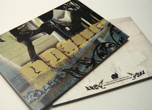 business postcard ideas 09 - ragehaus communique card