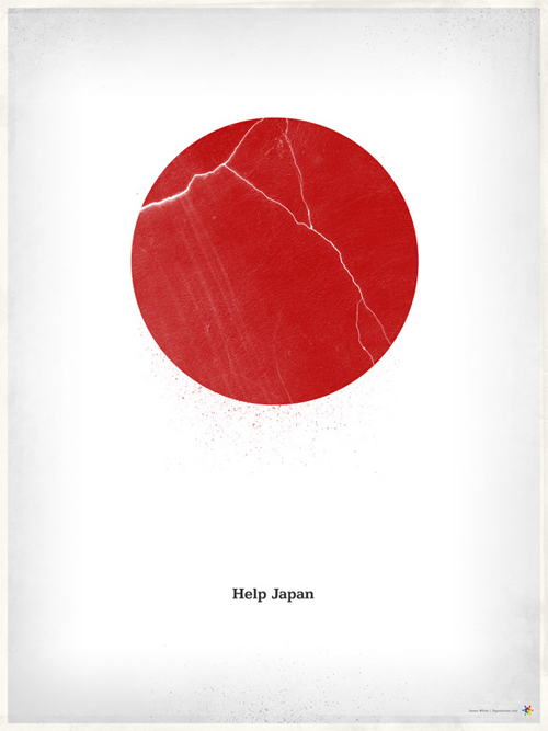 japan earthquake posters 13 - james white signalnoise help japan