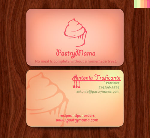 Bakery Business Cards 20 Examples of Pastry Shop Business Cards – Name Card Example