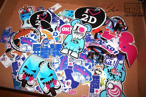 Custom Band Stickers 30 Examples Of Band Stickers Uprinting