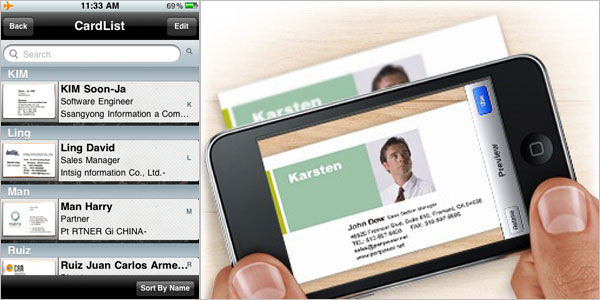 Smartphones Complement Business Cards- Hybrid Networking: In Defense of Business Cards and Social Media