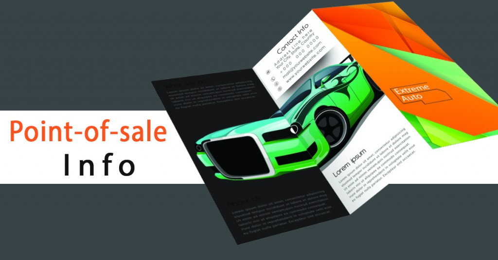 5 Ways Our Customers Do Brochure Marketing - Point of Sale