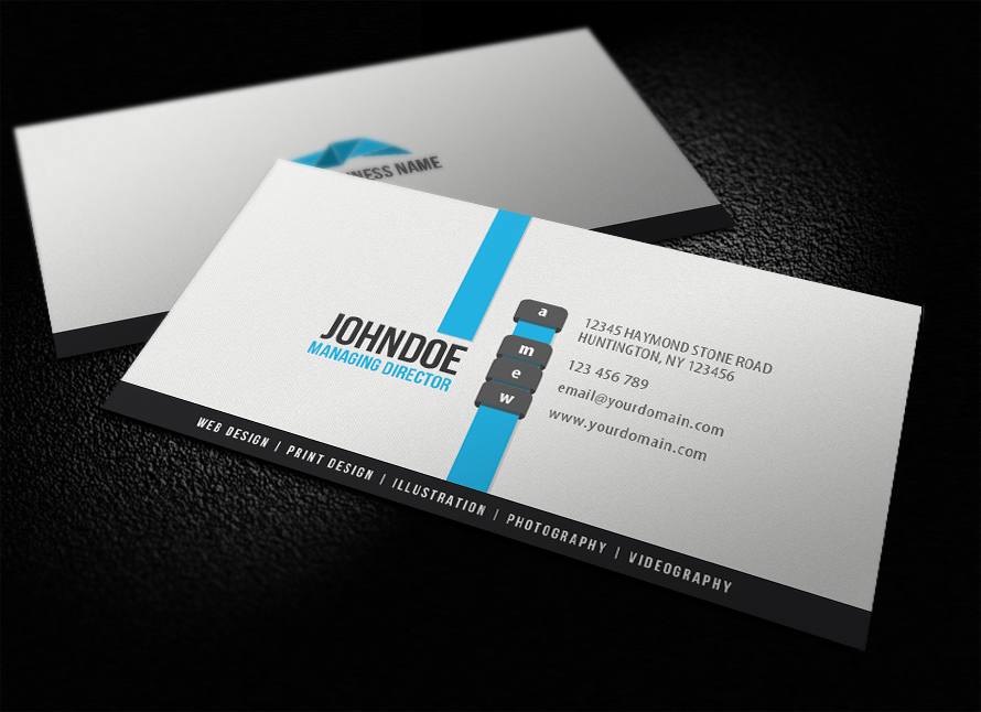 30 minimalist business card designs that pack a punch for Uprinting business cards