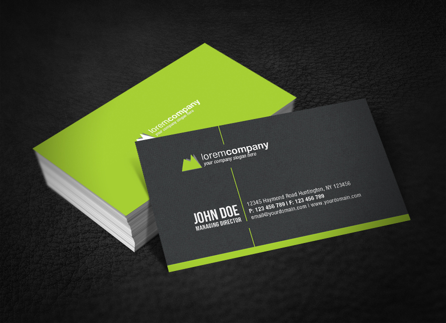 30 Minimalist Business Card Designs that Pack a Punch
