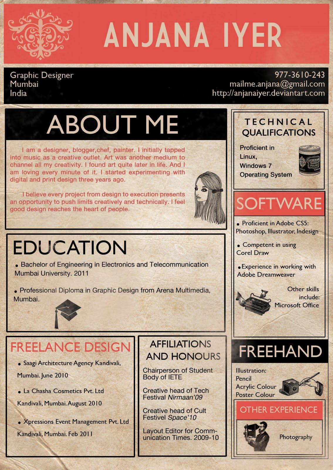 simple infographic resume - Vatoz.atozdevelopment.co
