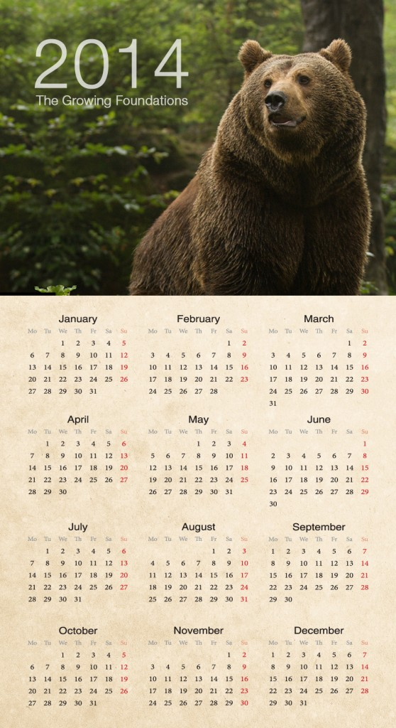 Get a Head Start on 2014 Promotions With UPrinting's Calendars - Poster Calendar