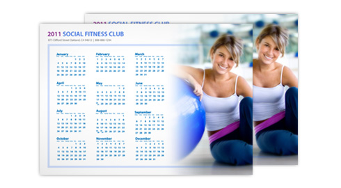 Get a Head Start on 2014 Promotions With UPrinting's Calendars - Card Calendar