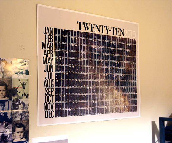 theglennnn - space: 2010 calendar