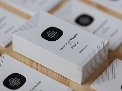 38 pro designers reveal their top business card design tips eugene woronyuk1 reheart Choice Image