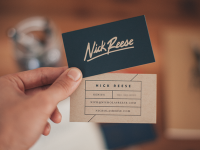 Nick Reese Business Card