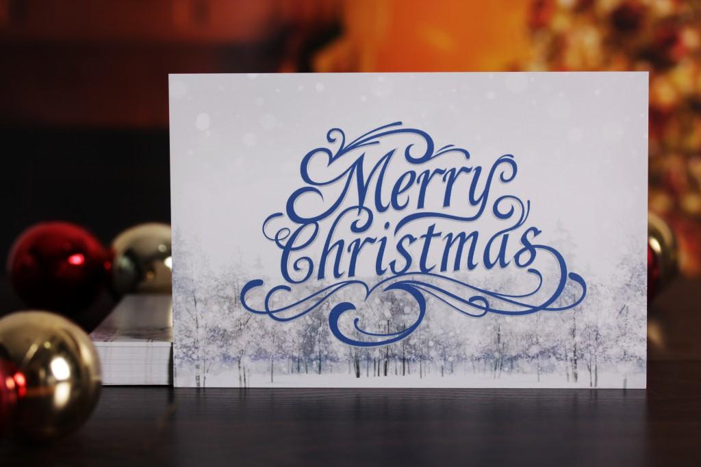 UPrinting Christmas Greeting