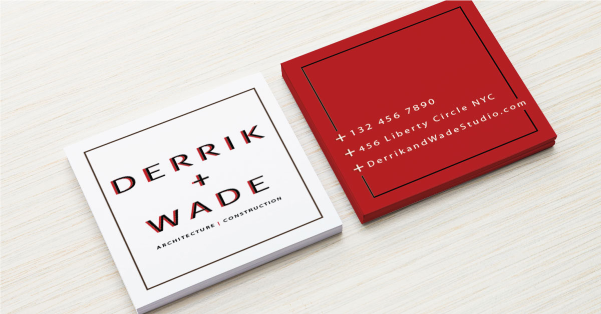 The psychology of business cards uprinting for Uprinting business cards