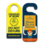 Hotel Door Hanger Designs: 5 Promotion and Efficiency Ideas