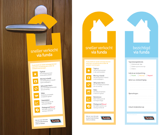 real estate agent marketing door hanger ideas
