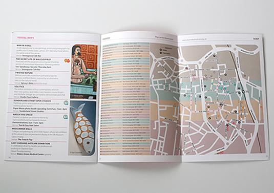 Brochure Map