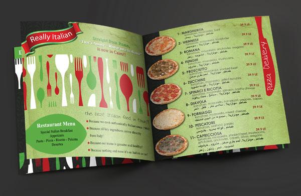 Brochure Menu 3