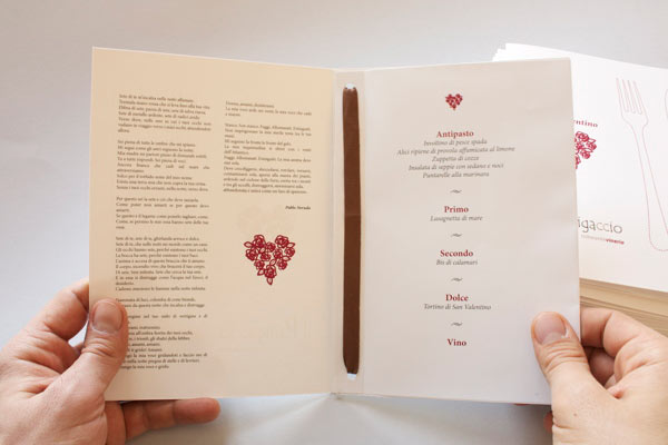Mini Brochure Menu