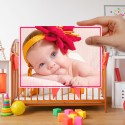 46 Cute Baby Pictures for Postcard Design Inspiration