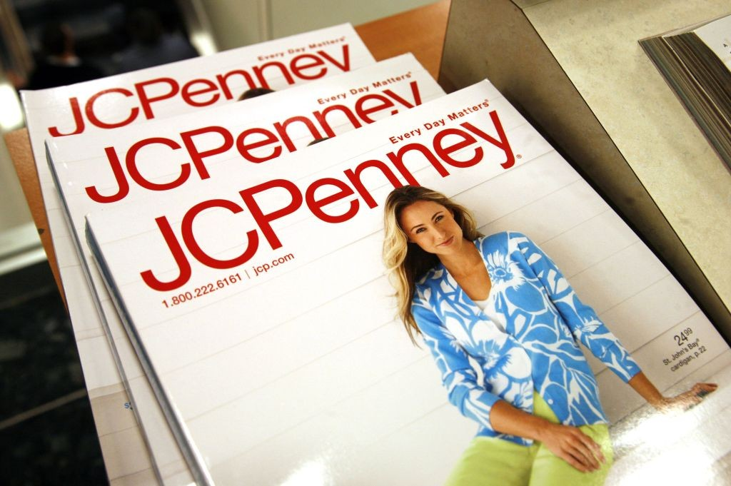 The Spring catalog is on display at the J.C. Penney store in Westminster