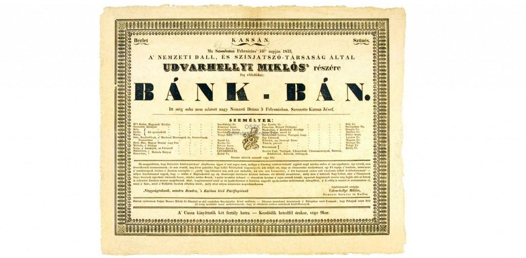 Interesting Things You Didn't Realize About Posters - Bánk_bán_szereposztás_1833