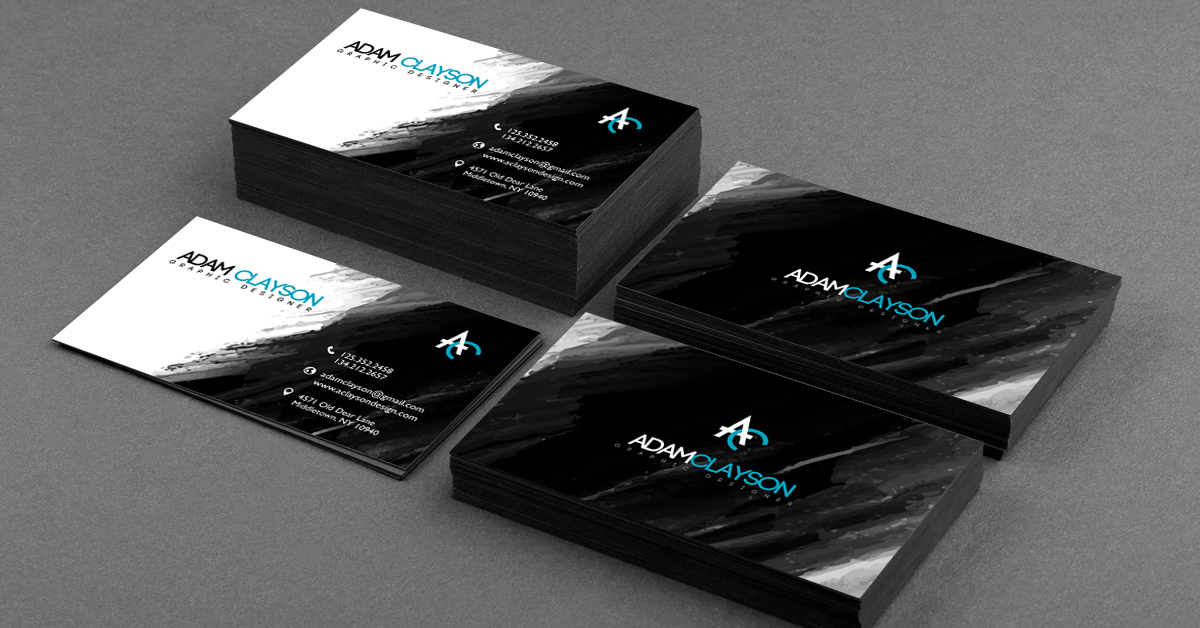 25 Stunning Black Business Cards for Print Design ...