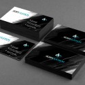 25 Stunning Black Business Cards for Print Design Inspiration main