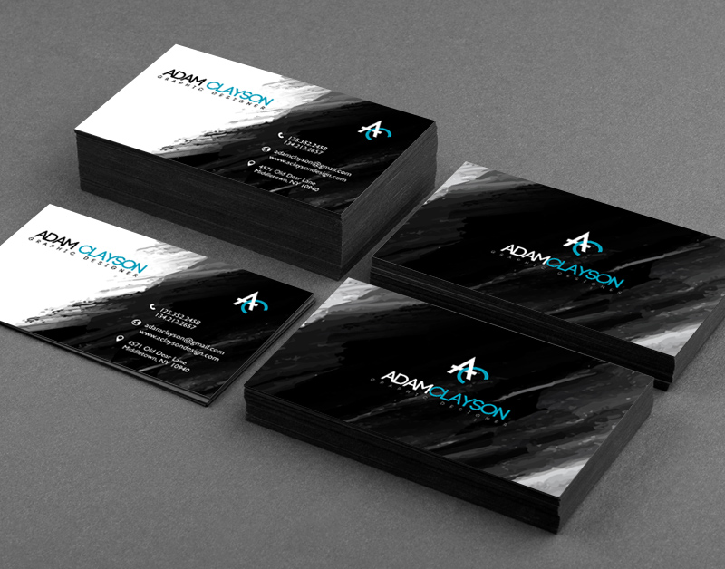 25 Stunning Black Business Cards For Print Design Inspiration