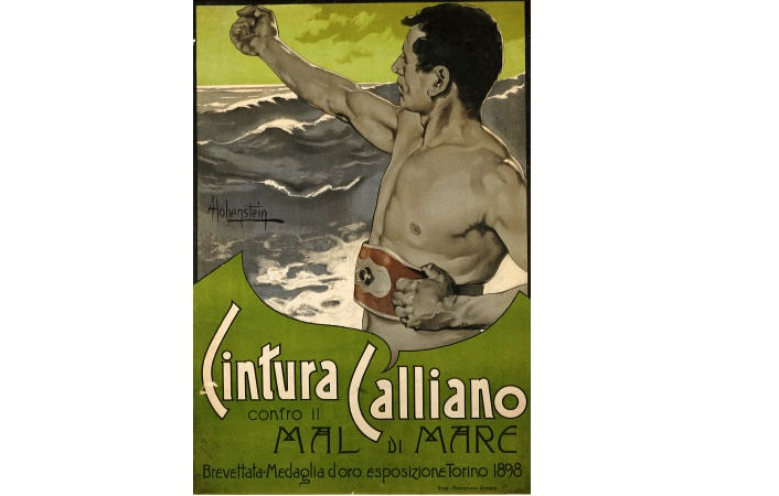 Interesting Things You Didn't Realize About Posters - Cintura Calliano. Adolfo Hohenstein (1854-1928). Lithograph In Colors, 1898.