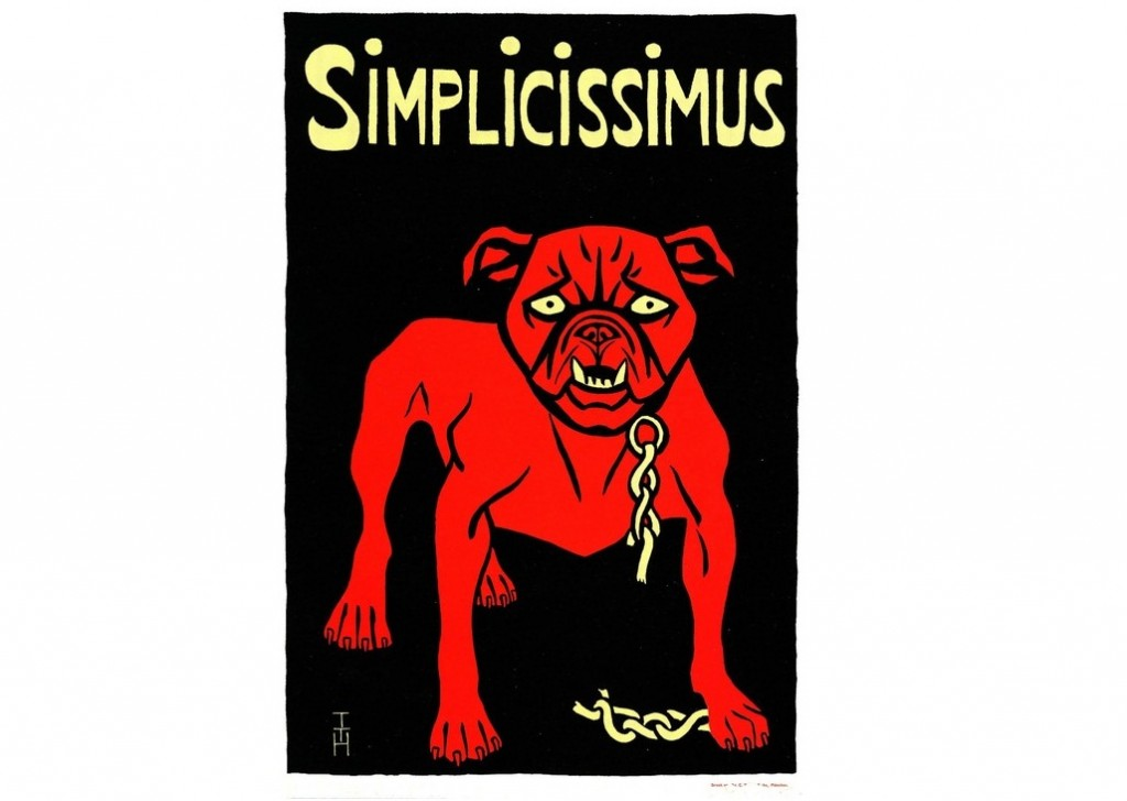 Interesting Things You Didn't Realize About Posters - Simplicissimus 1897