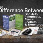 The Difference Between Flyers and Leaflets…and Booklets, Pamphlets, and Brochures