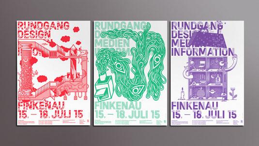 Das Department flyer designs