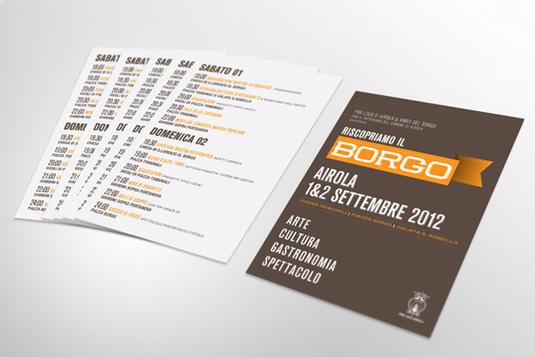 Giuseppe Fierro borgo flyer