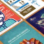 54 of the Best Flyer Design Examples We've Seen in 2016