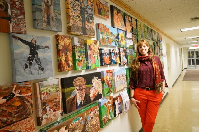 Susan York and Gathering Goodness Mosaic