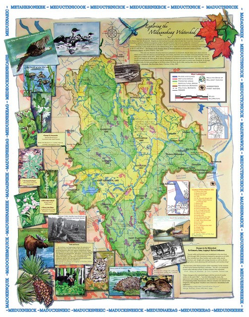 Meduxnekeag Watershed Map Second Page