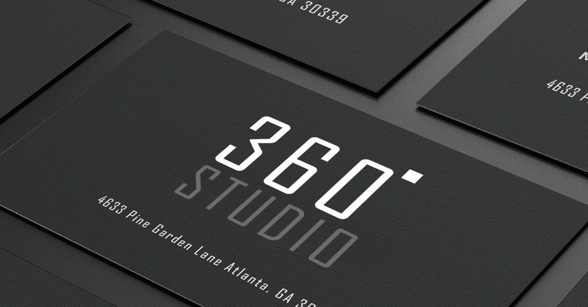 Matte business card stock
