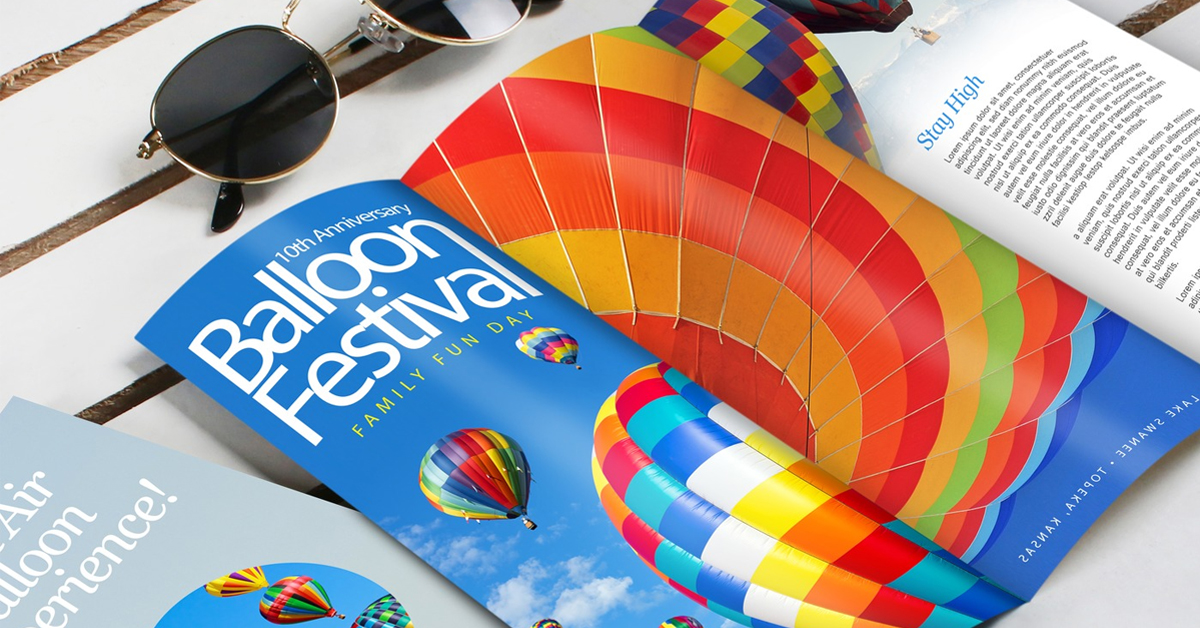 Brochure focal point