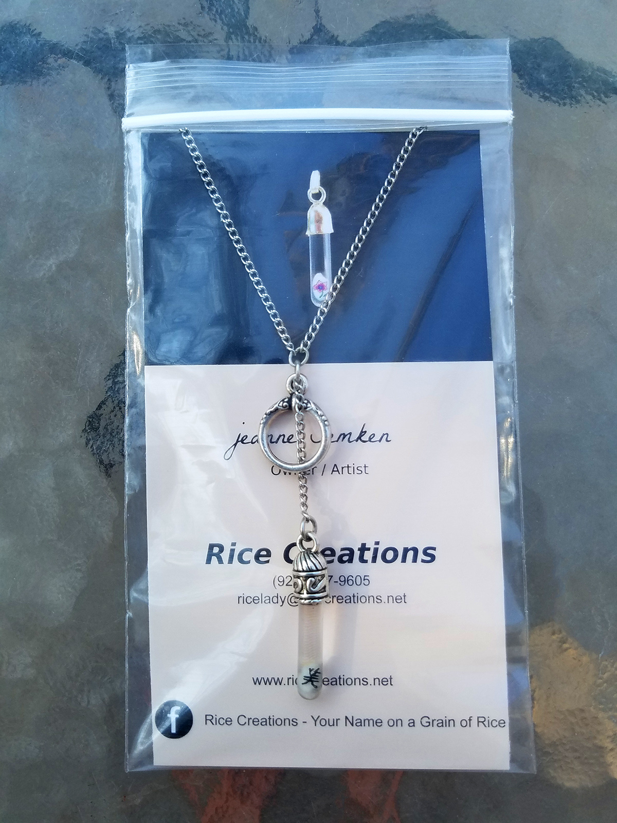 Rice Creations UPritning Business Card