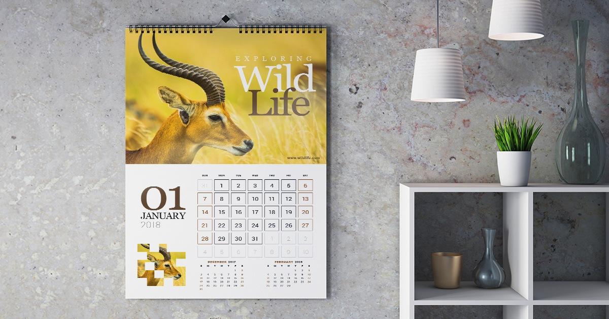 Animal & Wildlife Calendars