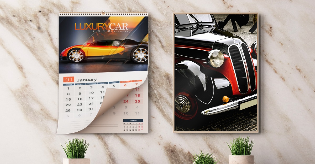 Car and Automotive Calendars